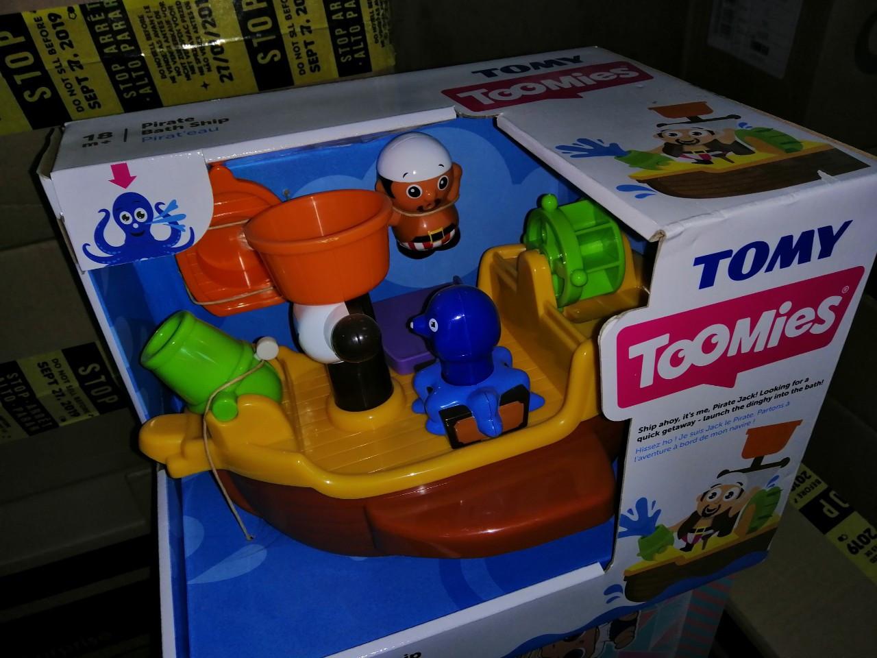 Игрушка для ванной пиратский корабль TOMYE71602, фото 10
