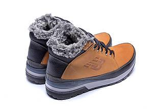 Мужские зимние кожаные ботинки в стиле New Balance Fox, фото 3