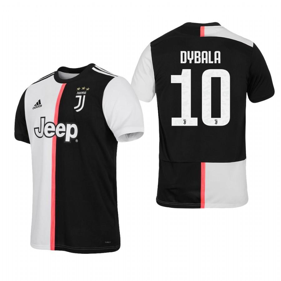 Детская футбольная форма Ювентус DYBALA 10 2019-2020 основная черно-белая