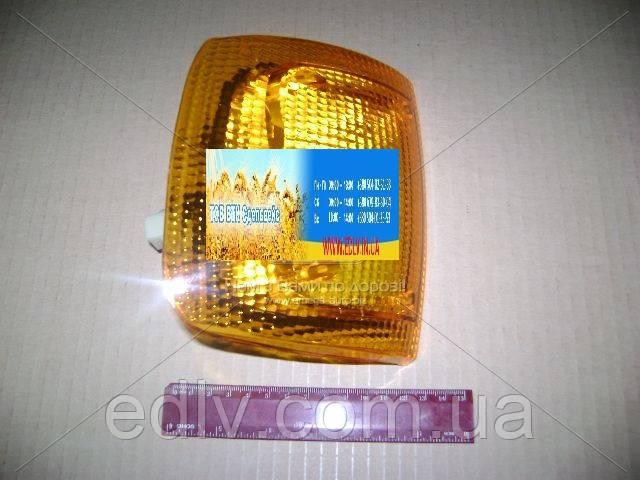Указатель поворотов ГАЗ 3302,3110 левый жёлтый 12В (пр-во ОСВАР) 3502.3726000-01