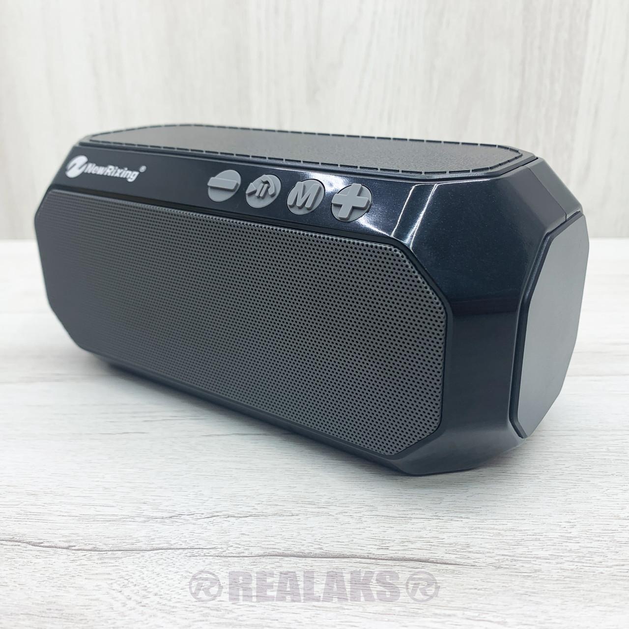 Портативная колонка NewRixing NR-4000 (Black)