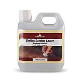 Грунт-шеллак натуральный, прозрачный, Shellac Sanding Sealer, 500 мл., Borma Wachs, фото 2