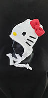 """Зимняя шапка """"Hello Kitty"""" Флисовая шапка"""