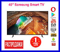 "Телевизор 40"" Samsung Smart TV. Wi-Fi, Full HD, Телевизор Самсунг. LЕD самсунг 40 дюймов"