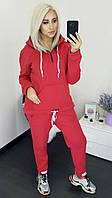 Супер теплый спортивный костюм трехнить на флисе.от50-до60р (6расцв), фото 1