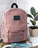 Рюкзак женский трендовый прозрачный  розовый объемный в корейском стиле
