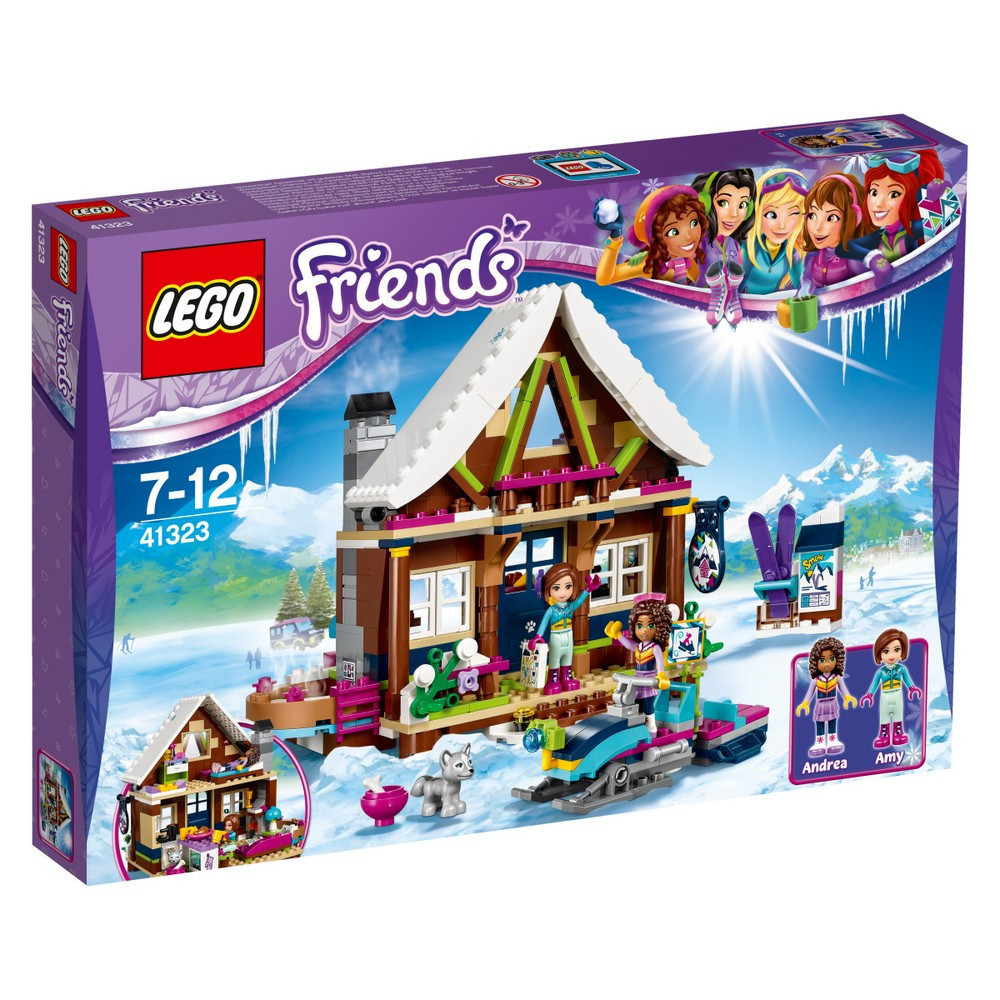Lego Friends Горнолыжный курорт: Шале 41323