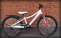 Велосипед подростковый 24 - Spelli Active Girl бело-розовый