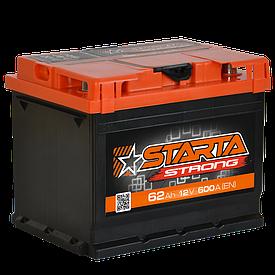 Автомобильный аккумулятор Starta Strong 6СТ-62