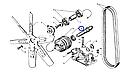 Ось привода вентилятора ЯМЗ, фото 3