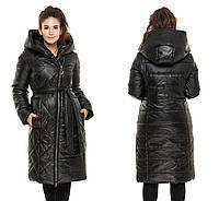 Женская зимняя куртка полупальто, фото 1