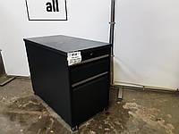 Б/у Тумбочка мобильная - с замком, на колёсах ( шкафчик для документов офисный ), фото 1
