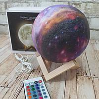 Светильник Космос ( Ночник планета ) USB с пультом