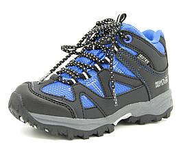 Ботинки Regatta Gatlin Mid JNR 28 (17,5 см) черно-синий, RG65656
