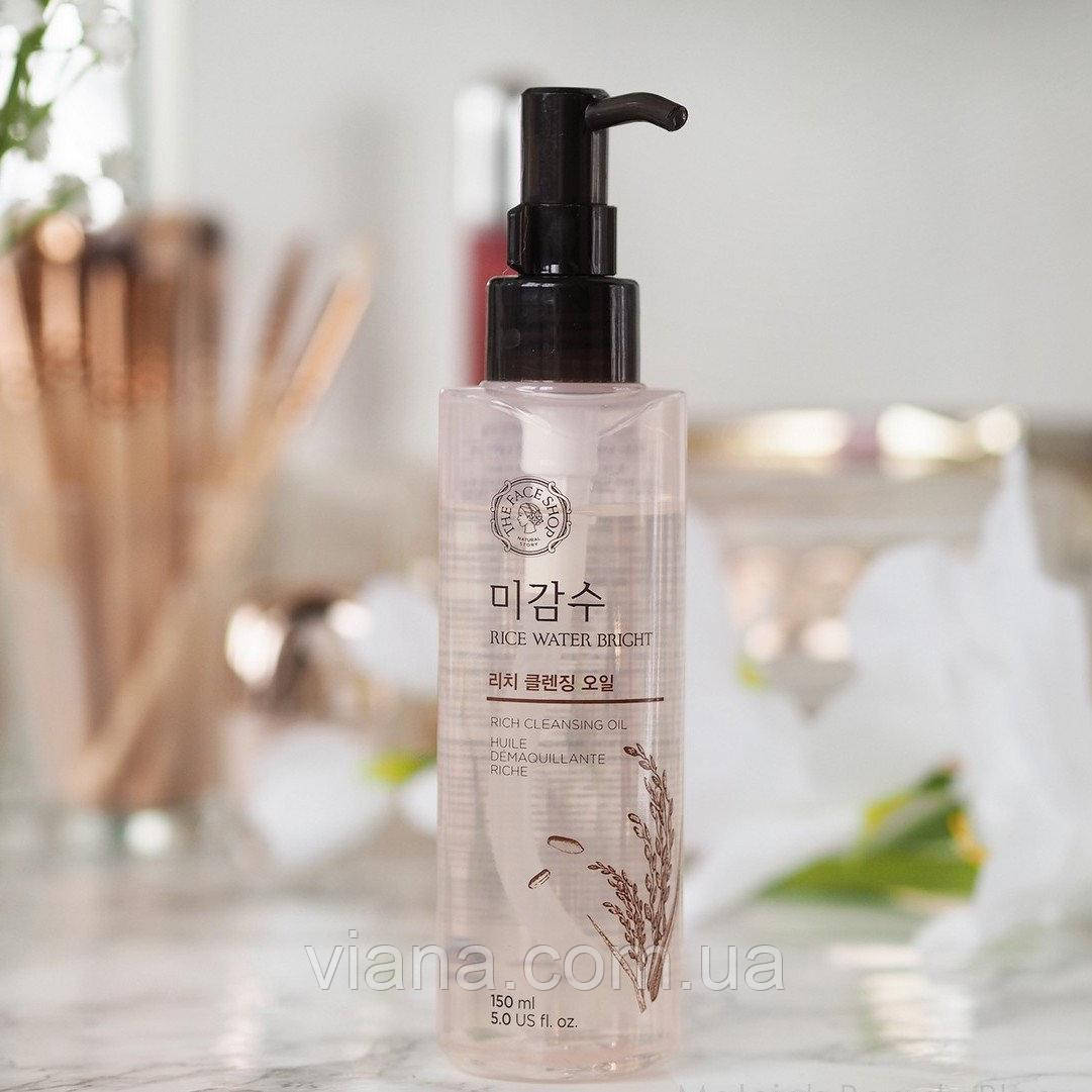 Гидрофильное масло The Face Shop Rice Water Bright Cleansing Oil