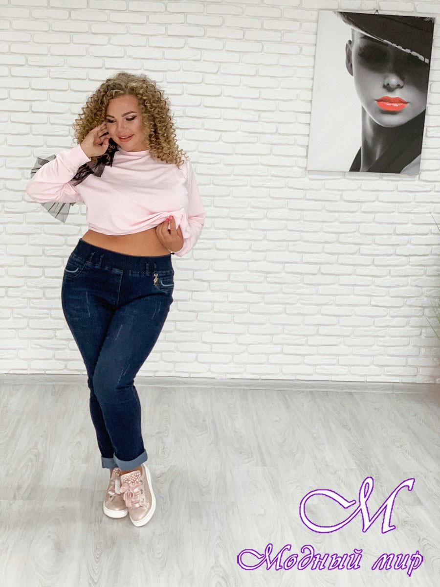 Женские джинсы большого размера (р. 48-90) арт. Стрейч Турция