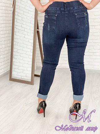Женские джинсы большого размера (р. 48-90) арт. Стрейч Турция, фото 2