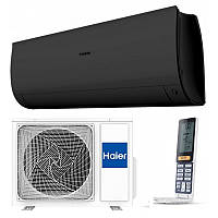 Кондиционер Haier AS35S2SF1FA-BC/1U35S2SM1FA Flexis Inverter WI-FI -25⁰C matt black, фото 1
