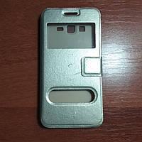 Уценка! Чехол книжка на Samsung G530 черный защитный чехол для мобильного телефона.