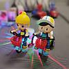 Детский трехколесный велосипед игрушка с музыкой иосвещением, фото 5