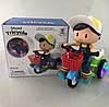 Детский трехколесный велосипед игрушка с музыкой иосвещением, фото 6