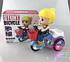 Детский трехколесный велосипед игрушка с музыкой иосвещением, фото 9