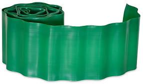 Бордюр газонный Verano волнистый зеленый 100 мм х 9 м (71-840)