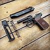 Пневматический пистолет Байкал МР-654К + баллоны SAS, шары, ремкомплект, фото 6