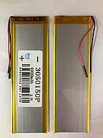 Аккумулятор универсальный (150*55*3 / 2 pin) (Li-ion - 3.7V / 4000mAh) (3050150P)