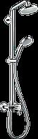 Душова система Hansgrohe Croma 160 1jet Showerpipe зі змішувачем хром