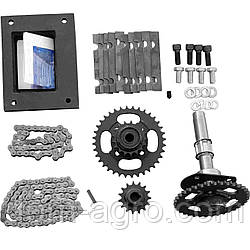 Комплект для переоборудования мотоблока в мототрактор №3 (гидр. торм. система) (КТ8, КТ10)