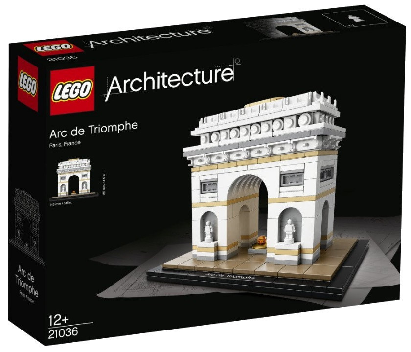 Lego Architecture Триумфальная арка 21036