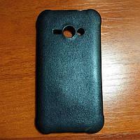 Чехол силиконовый на Samsung J110 черный защитный чехол для мобильного телефона.