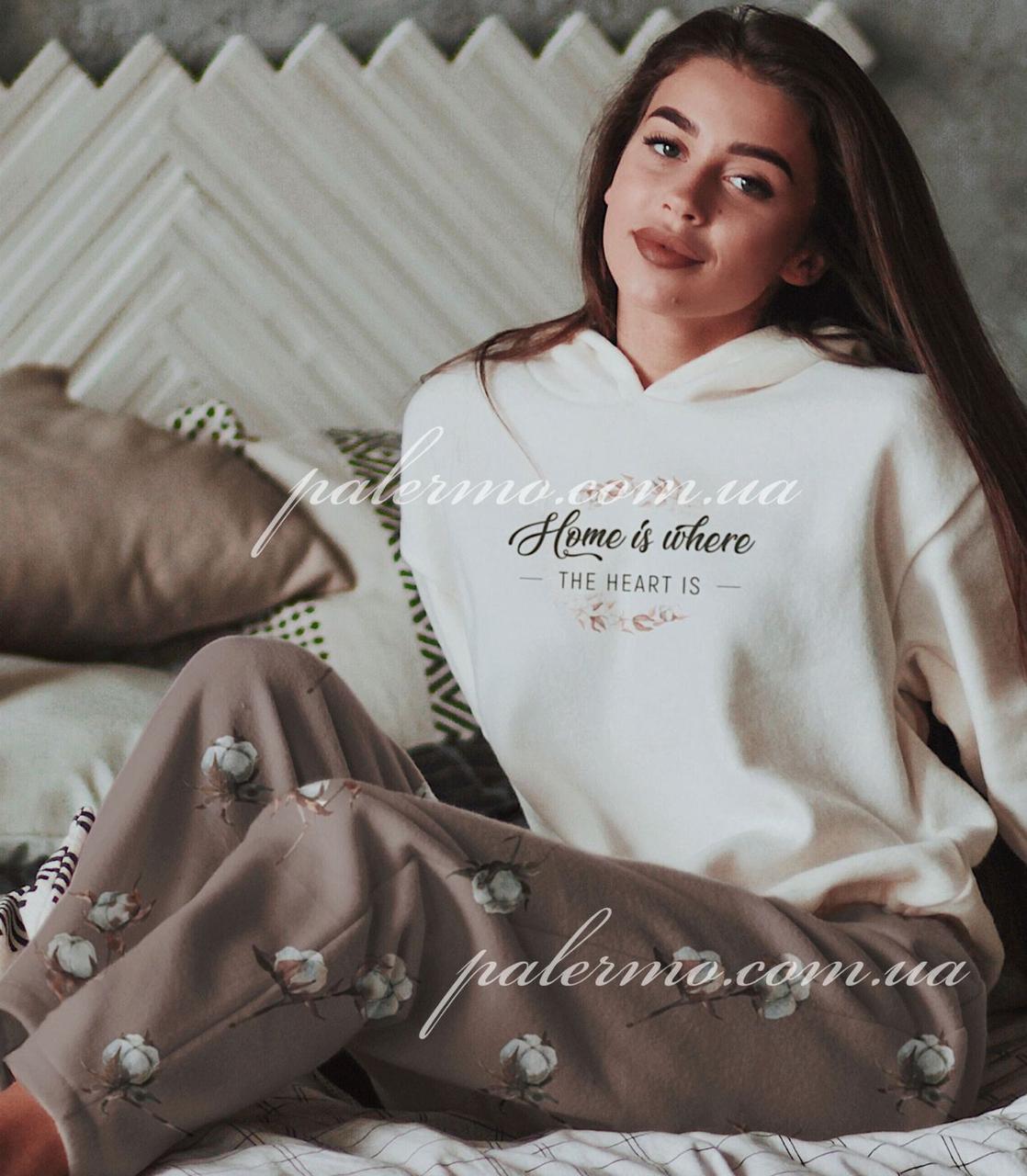 Пижама женская теплая Home 🧡 флис