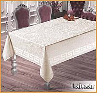 Скатерть тефлоновая  прямоугольная  Maison Royale Lalezar  160х220 ,  Beyaz Турция