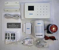 GSM сигнализация для офиса квартиры KERUI G18 1,7``TFT сенсорная русская