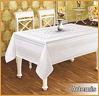 Скатерть тефлоновая  прямоугольная  Maison Royale   Artemis 160х220 ,  Beyaz Турция, фото 1