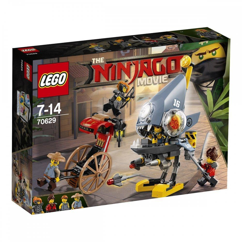 Lego Ninjago Movie Атака пираний 70629