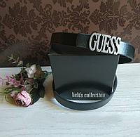 Ремни Guess 2см кожа + подарок, ремни Guess, ремни гуесс, брендовые ремни гесс из Турции, ремни гесс, гесс, фото 1