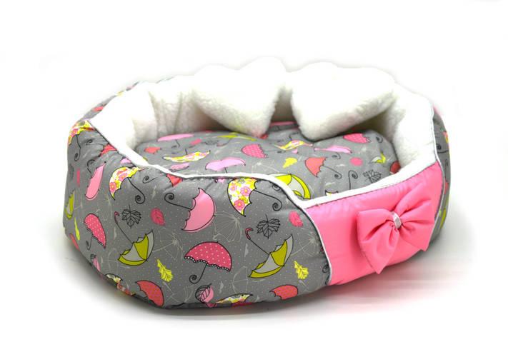 Лежак Фантазия для собак и котов на паралоне Розовый, фото 2