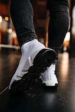 Кроссовки женские мужские Balenciaga Speed Trainer белые (Top replic), фото 2