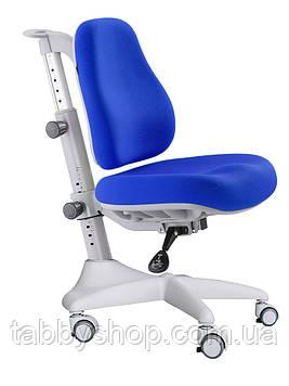 Детское регулируемое кресло MEALUX Match Y-528 SB gray base (обивка синяя)