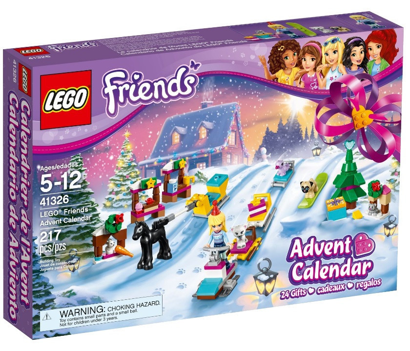 Lego Friends Новогодний календарь Friends 41326