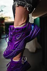 Кроссовки женские Nike M2K Tekno фиолетовые (Top replic), фото 2