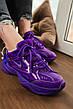 Кроссовки женские Nike M2K Tekno фиолетовые (Top replic), фото 3
