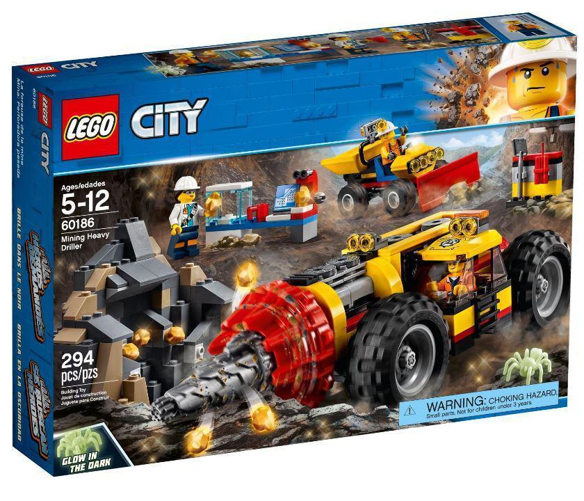 Lego City Тяжелый горный бур 60186Нет в наличии