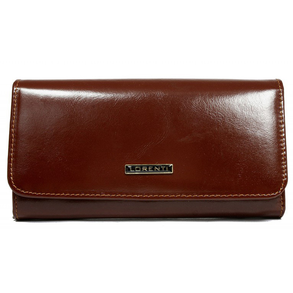Женский кожаный кошелек LORENTI 76110 YL Brown