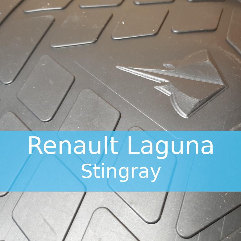Резиновые коврики в автомобиль Renault Laguna (Stingray)