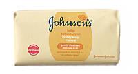 Мыло детское Johnson's baby honey soap с медом 100 г.