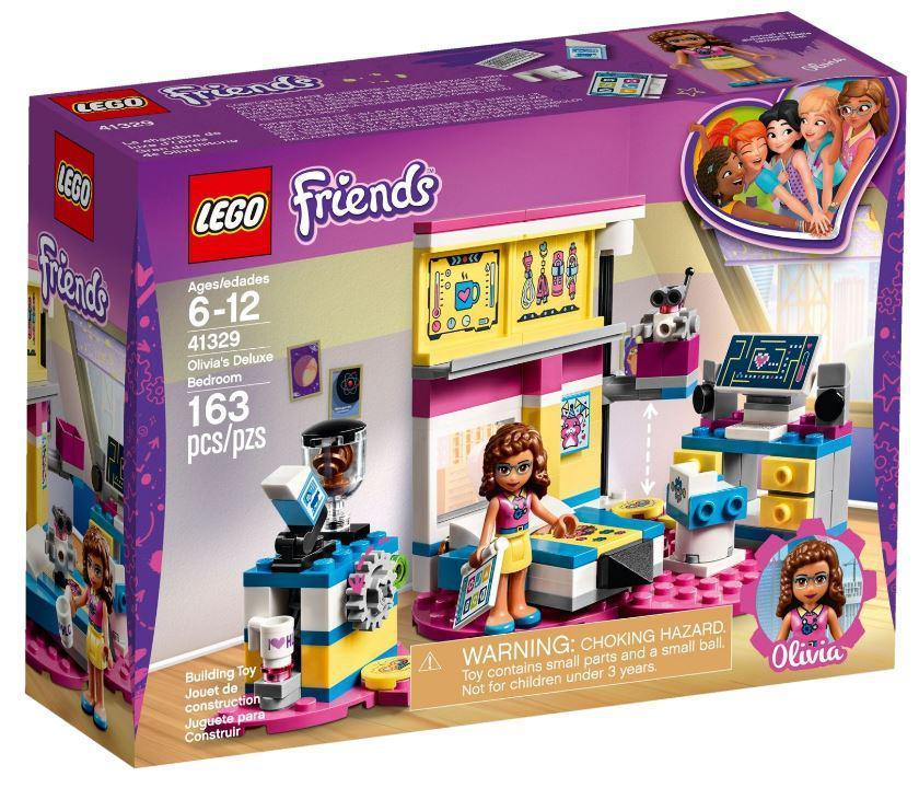 Lego Friends Комната Оливии 41329